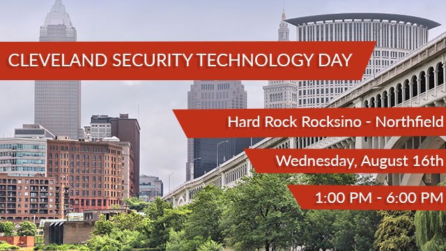 Cleveland Severity Technology day header image
